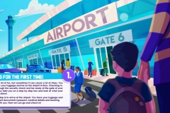 Airport Infographic Frame 1