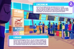 Airport Infographic Frame 2