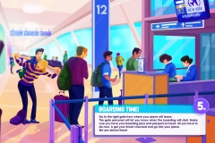 Airport Infographic Frame 5