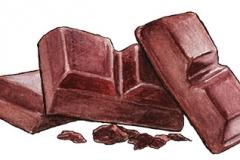 Chocolade Illustratie