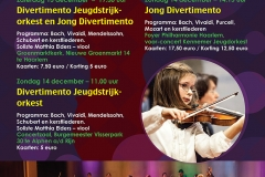 Stichting Divertimento Kerst Poster 2014