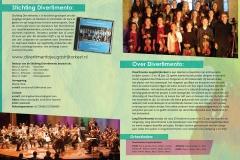 Stichting Divertimento Voorjaarsconcerten Programmaboekje 2015