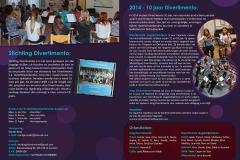 Stichting Divertimento Kerst Programmaboekje 2014