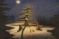 Illustratie Concept Kerst 2015