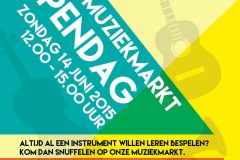Vrije Muziekschool Haarlem Poster 2015