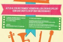 Vrije Muziekschool Haarlem Poster 2016